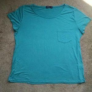 Teal tee-shirt